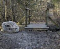 El puente de Ella Foto de archivo