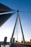 El puente de Erasmus Fotografía de archivo