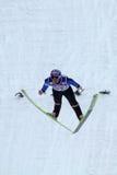 El puente de esquí Anders JACOBSEN vuela Foto de archivo