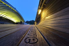 El puente de Henderson Wave en Singapur Fotos de archivo