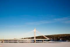 El puente de Jatkankynttila Imagenes de archivo