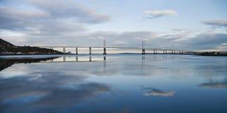 Puente Escocia de Kessock Fotos de archivo libres de regalías