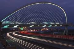 El puente de la arpa Fotografía de archivo