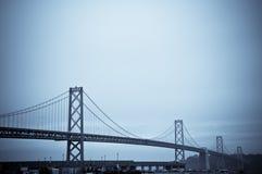 El puente de la bahía, San Francisco Fotos de archivo