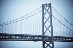El puente de la bahía, San Francisco Fotos de archivo libres de regalías