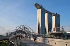 El puente de la hélice, casino de la arena del oro Foto de archivo