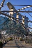 El puente de la hélice, Singapur Fotografía de archivo libre de regalías