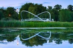 El puente de la mariposa de Bedford Fotografía de archivo libre de regalías