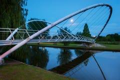 El puente de la mariposa de Bedford Foto de archivo