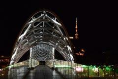 El puente de la paz Foto de archivo