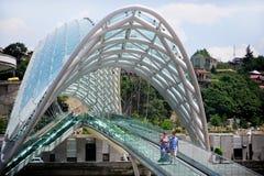 El puente de la paz Imagenes de archivo