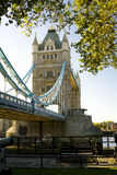 El puente de la torre Fotografía de archivo libre de regalías