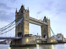 El puente de la torre de Londres Imagenes de archivo