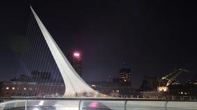 El puente de las mujeres de Buenos Aires. Imagen de archivo libre de regalías