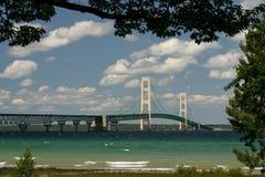 El puente de Mackinaw Foto de archivo libre de regalías