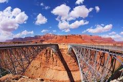 El puente de Navajo Fotos de archivo