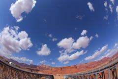 El puente de Navajo sobre el río Colorado Foto de archivo