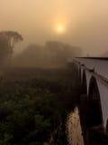 El puente de nueve agujeros Imagen de archivo libre de regalías