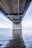 El puente de Oresund, bron de los oresunds imagen de archivo libre de regalías
