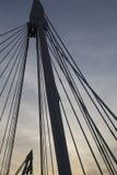 El puente de oro del jubileo Fotografía de archivo libre de regalías