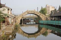 El puente de piedra Foto de archivo