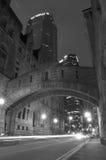 El puente de Pittsburgh de suspiros Foto de archivo libre de regalías