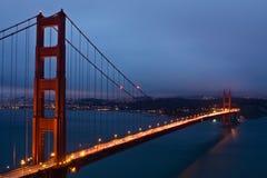 El puente de puerta de oro Fotos de archivo