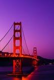 El puente de puerta de oro, San Francisco Imágenes de archivo libres de regalías