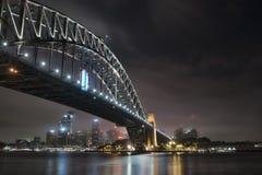 El puente de puerto de Sydney imagen de archivo libre de regalías