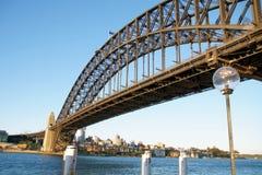 El puente de puerto de Sydney Imagenes de archivo