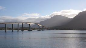 El puente de Sortland Imagen de archivo libre de regalías