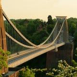 El puente de suspensión de Clifton Bristol Foto de archivo libre de regalías