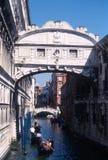 El puente de suspiros Imágenes de archivo libres de regalías