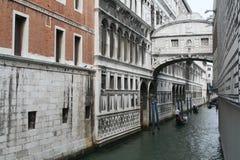 El puente de suspiros Foto de archivo