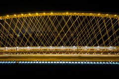 El puente de Troja foto de archivo libre de regalías