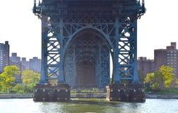 El puente de Williamsburg Imagenes de archivo