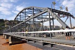 Puente de Zhongshan Foto de archivo