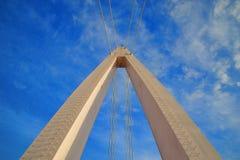 El puente del amante en el embarcadero del pescador de Tamsui Foto de archivo