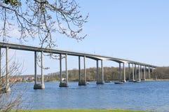 El puente del estrecho de Svendborg fotos de archivo