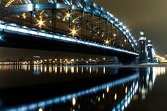 El puente del gran Peter Imagen de archivo libre de regalías