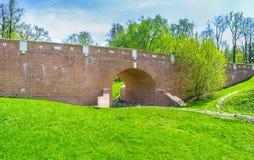 El puente del invernadero de Tsaritsyno Fotografía de archivo libre de regalías