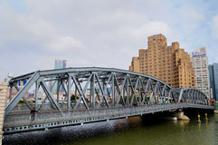 El puente del jardín en Shangai Fotografía de archivo libre de regalías