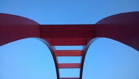 El puente del rosa foto de archivo libre de regalías