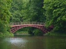 El puente en el parque de Charlottenburg Imagen de archivo