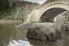 El puente en el puente de Pooley Imagenes de archivo