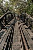 El puente en el río Kwai imagen de archivo libre de regalías