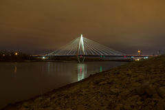 El puente en enlace de Christopher S. en Kansas City fotos de archivo libres de regalías