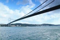 El puente entre Europa y Asia Fotos de archivo libres de regalías