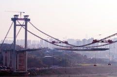 El puente esté en la construcción Fotos de archivo libres de regalías