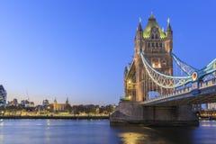 El puente famoso de la torre Fotos de archivo